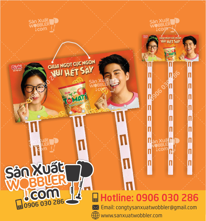 Hanger dây nhựa quảng cáo