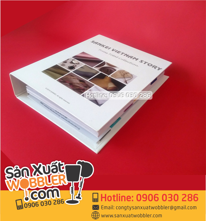 Printing sample book, fabric tphcm
